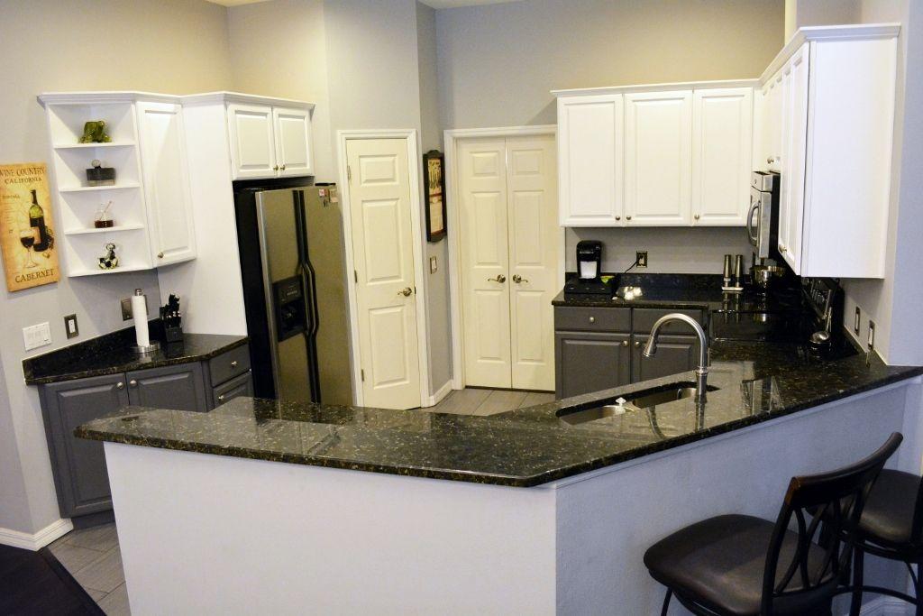 Remodeled kitchen in Braden Pines home (east Bradenton ...