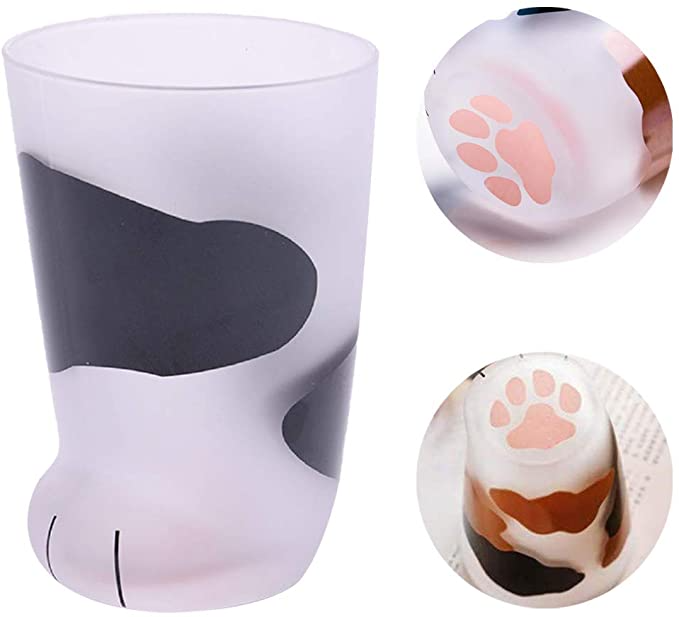 Cat Claw Cup Cat Paw Frosted Cup Kids Milk