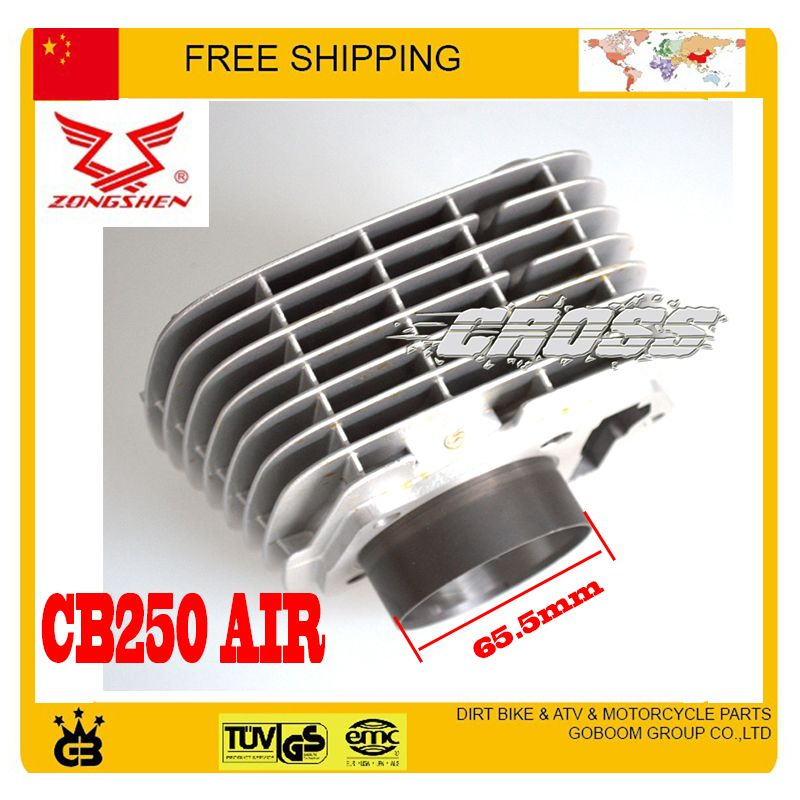 ZONGSHEN 250CC CB250 air cooled engine cylinder 65 5mm