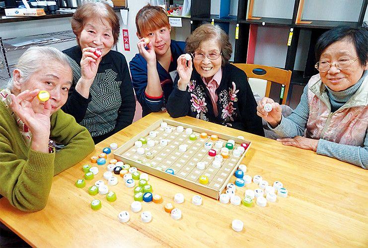 ゲーム テーブル 者 高齢 レクリエーション