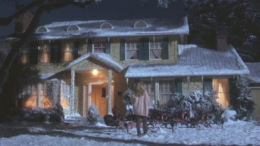 Griswold House In National Loon's Christmas Vacation