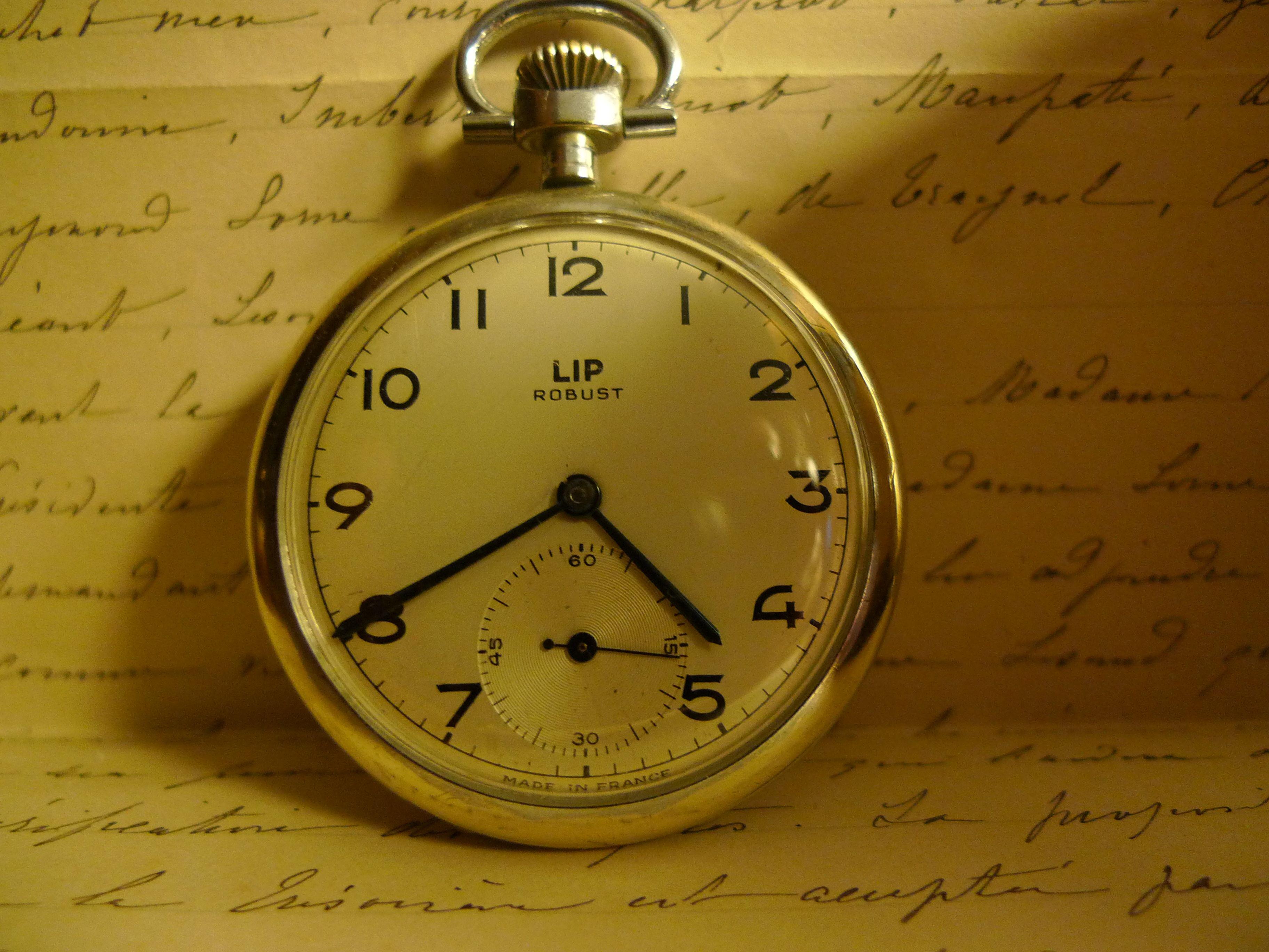 ancienne montre de poche lip robust montres lip pinterest. Black Bedroom Furniture Sets. Home Design Ideas