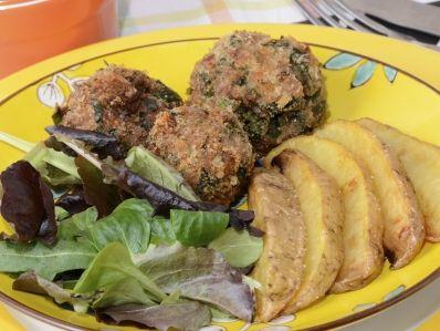 Receta   Albóndigas cremosas con espinacas - canalcocina.es