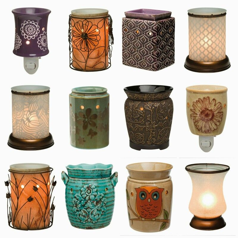 """Just a few of our Scentsy warmer and plug-in options! Keep in mind that we offer great deals on our scent bars to go with them. Just click """"combine and save"""" in the Specials section of the site and you can get 3 bars for $14 or 6 bars for $25, which is like getting one for FREE! Please visit my site: justinwhitley.scentsy.us. Remember, when ordering on the site, to choose the party for the current month either from the drop down menu at the top or when prompted at checkout. Thanks!"""