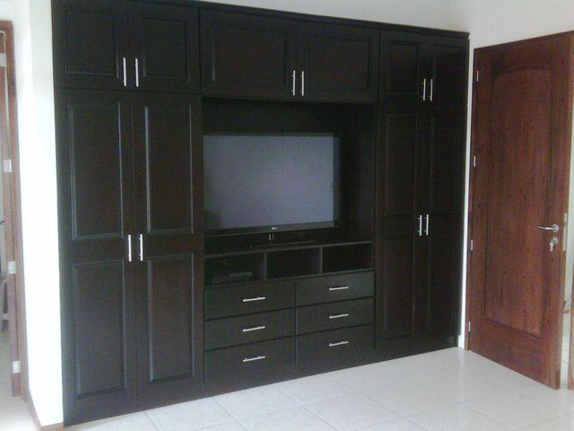 CLOSET PARA TV  Closets  Muebles Closet de madera y