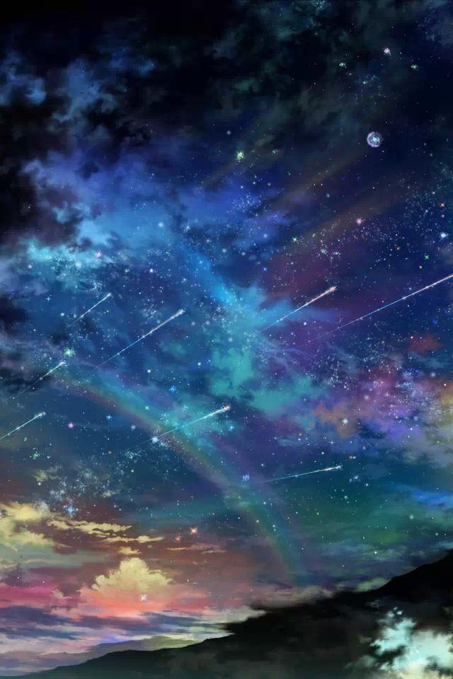 Digital Night Sky :)