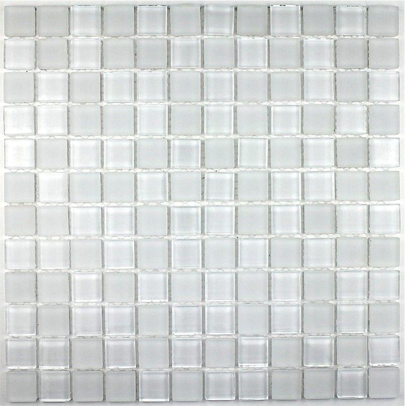 Mosaique Verre Salle De Bain Piscine Hammam Matblanc 23 Carrelage