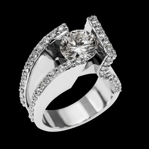 John Atencio Jewelry John Atencio Elevate Engagement Ring Id