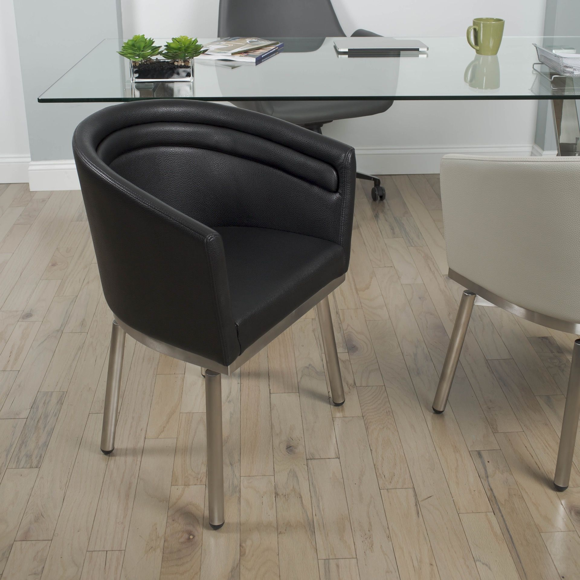 The Contemporary Elegance Of The Zamora Collection Features A