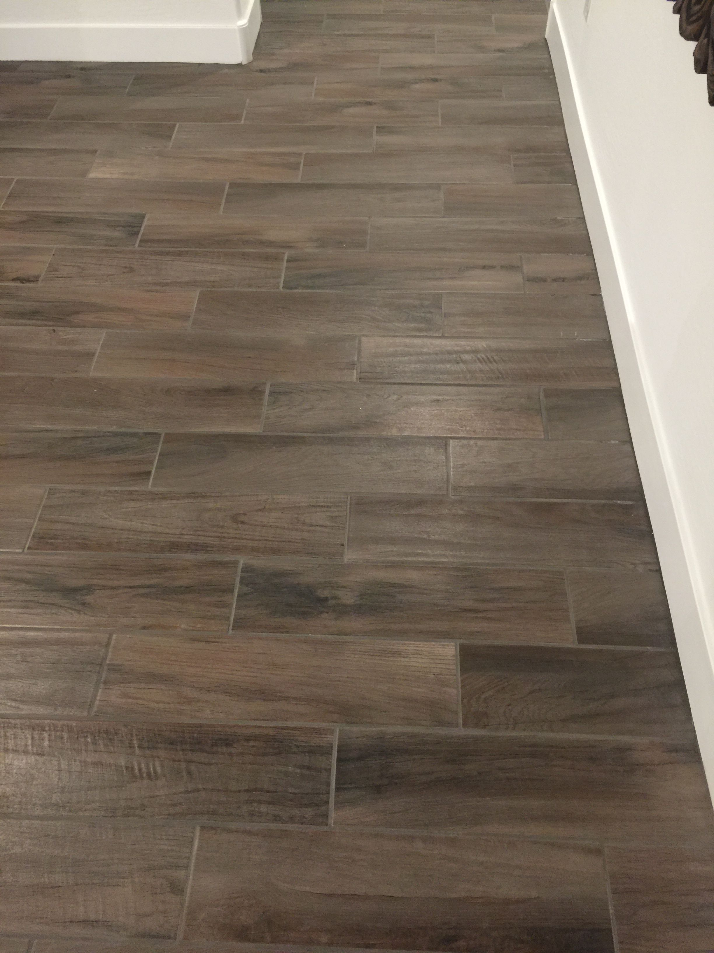 Marazzi Norwood Chestnut Tile  Flooring in 2019  Marazzi tile Wood look tile House design