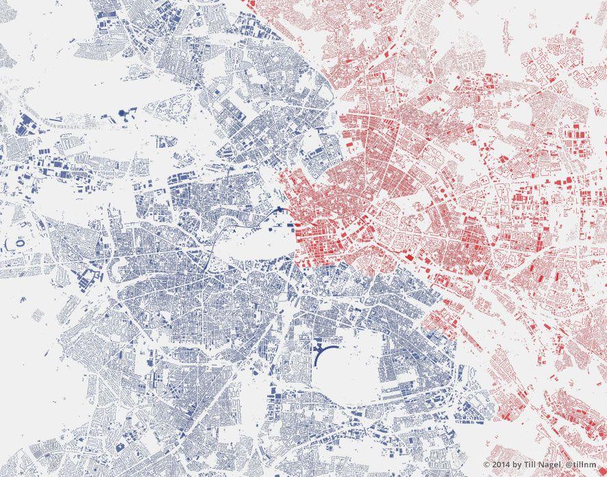 Berlin East West Urban Mapping