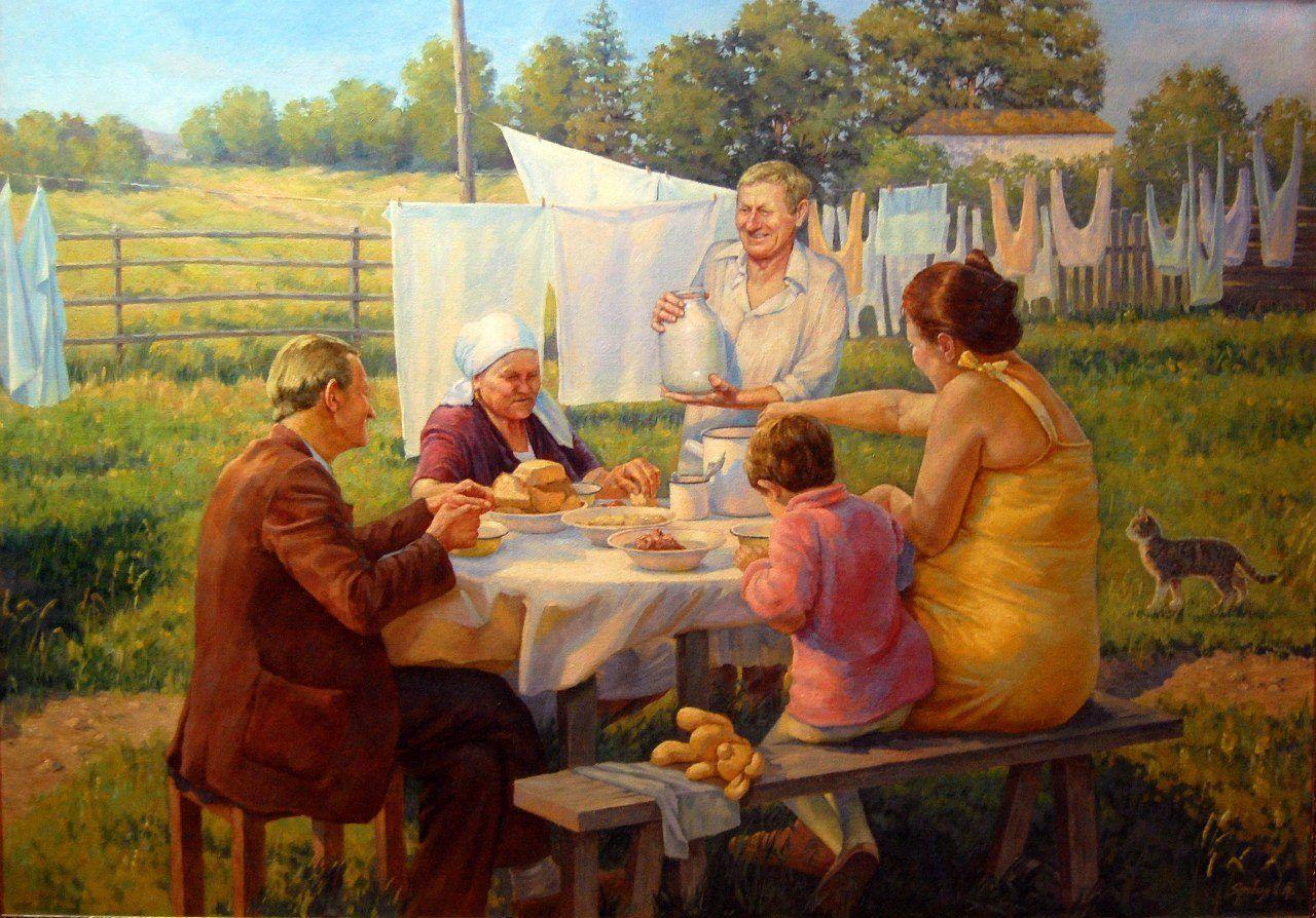 Как оплодотворяли баб в семьях на деревне в былые времена — pic 1
