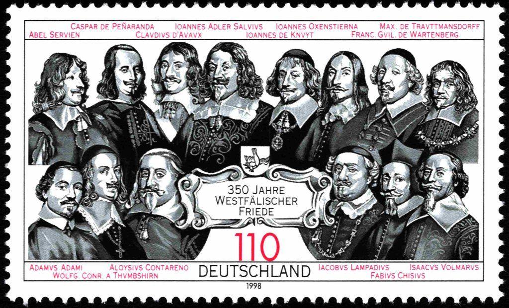Deutschland 1998 350 Jahre Westfälischer Friede