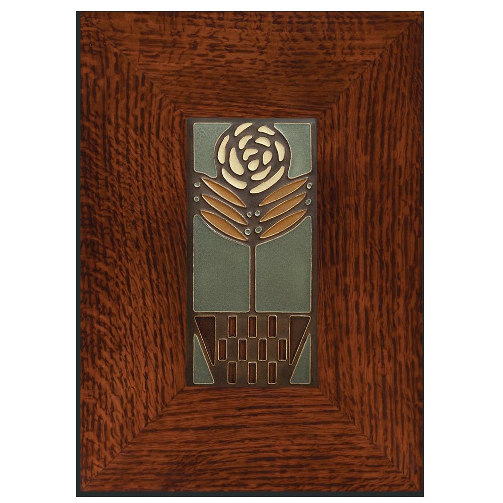45 Arbor Oak: 4x8 Checkerpot Rose - Stone