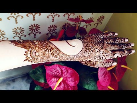 Mehndi For The Inspired Artist : Heavy mandala henna design for eid