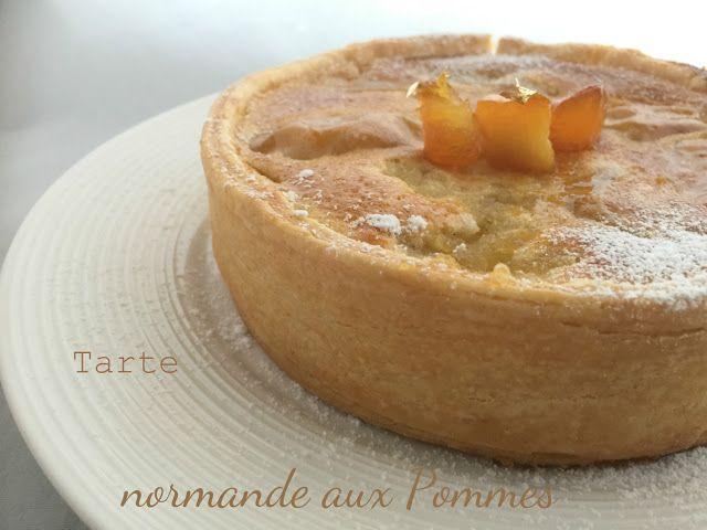 Tarte Normande aux Pommes (I dolci di Pinella)