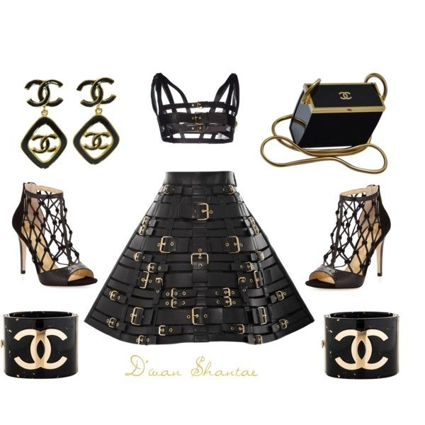 SLAYYYYYYYYYYYYYYYYYYY by adswil on Polyvore featuring polyvore fashion style FAUSTO PUGLISI Ivanka Trump Chanel fly couture slay
