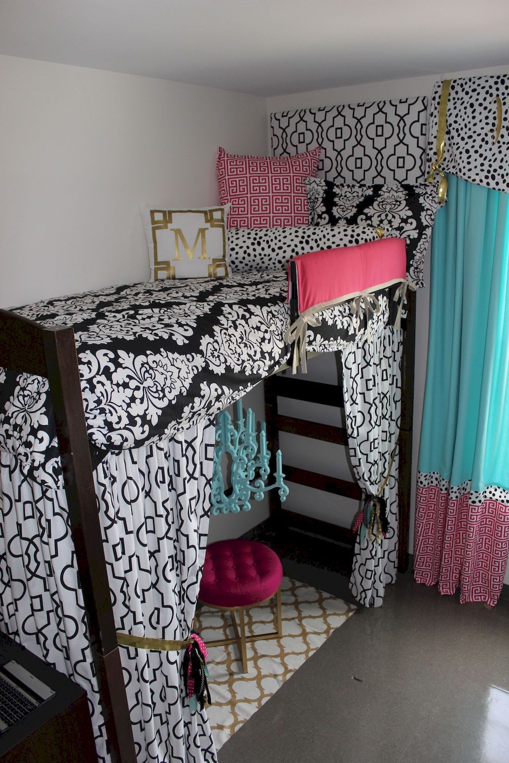 Cool College Dorm Rooms: 100+ Cute Loft Beds College Dorm Room Design Ideas For