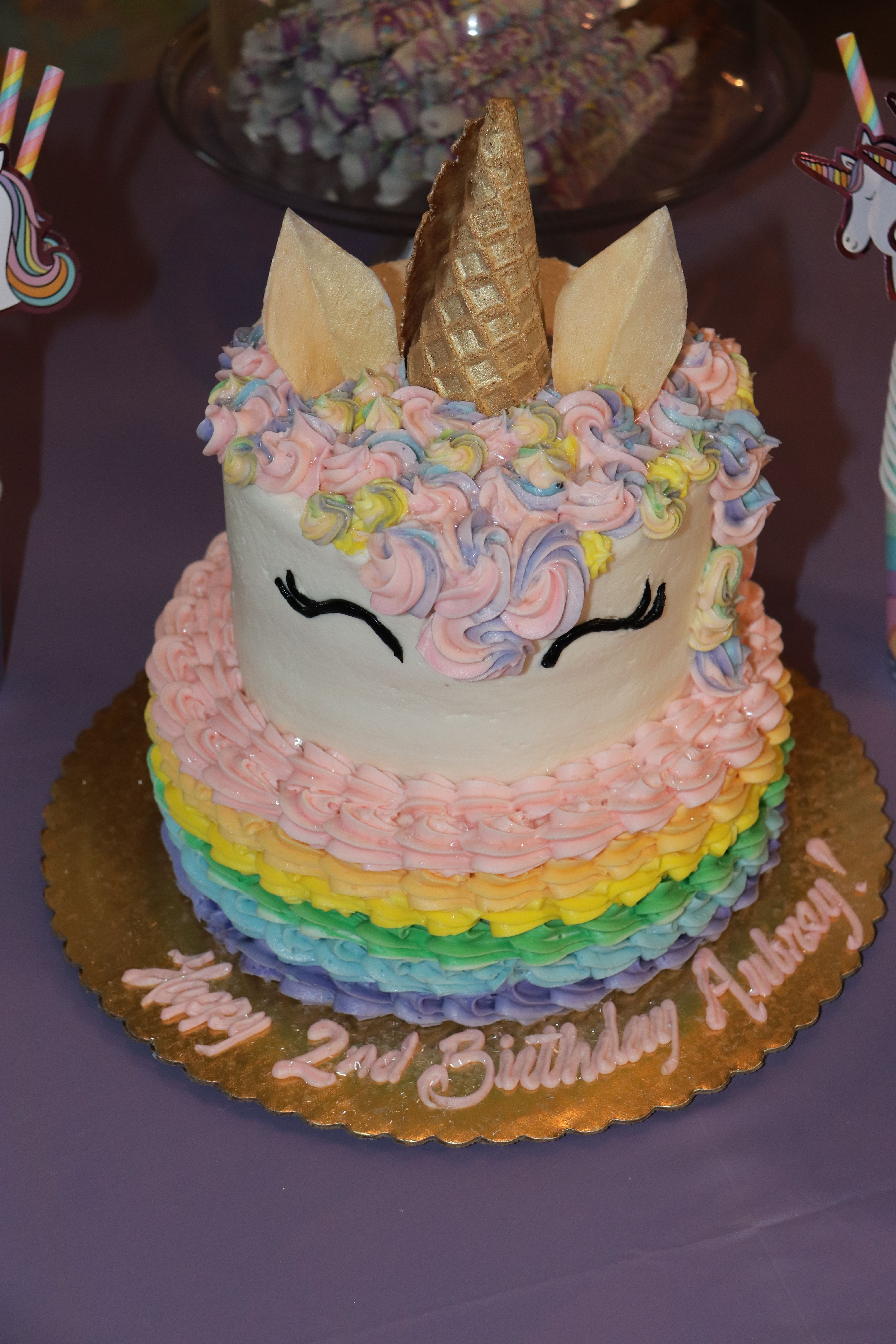 Awe Inspiring Smug Unicorn Cake From Central Market In Plano Tx With Images Personalised Birthday Cards Arneslily Jamesorg