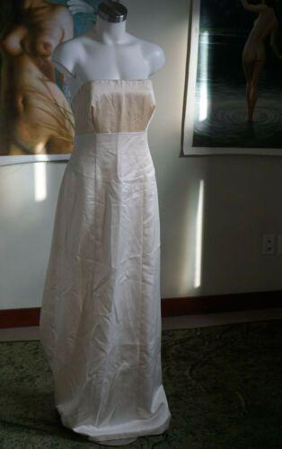Damen Elfenbein Brautkleid Kleid – Vera Wang / Größe: 12 ärmellos | Ebay