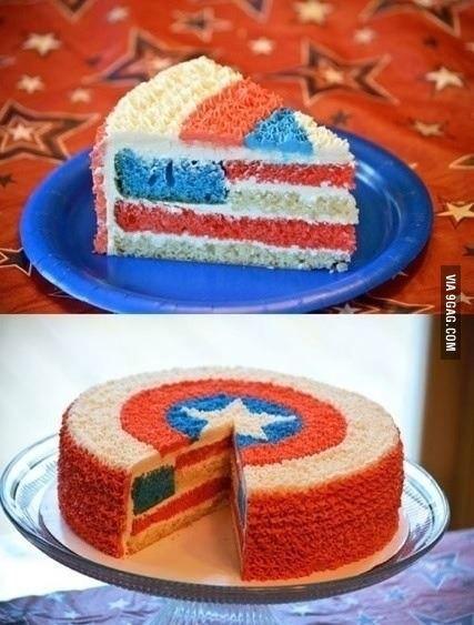 Coulson's birthday cake