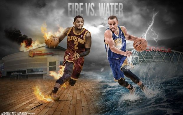 Kyrie Irving And Stephen Curry Wallpaper By Btamdesigns