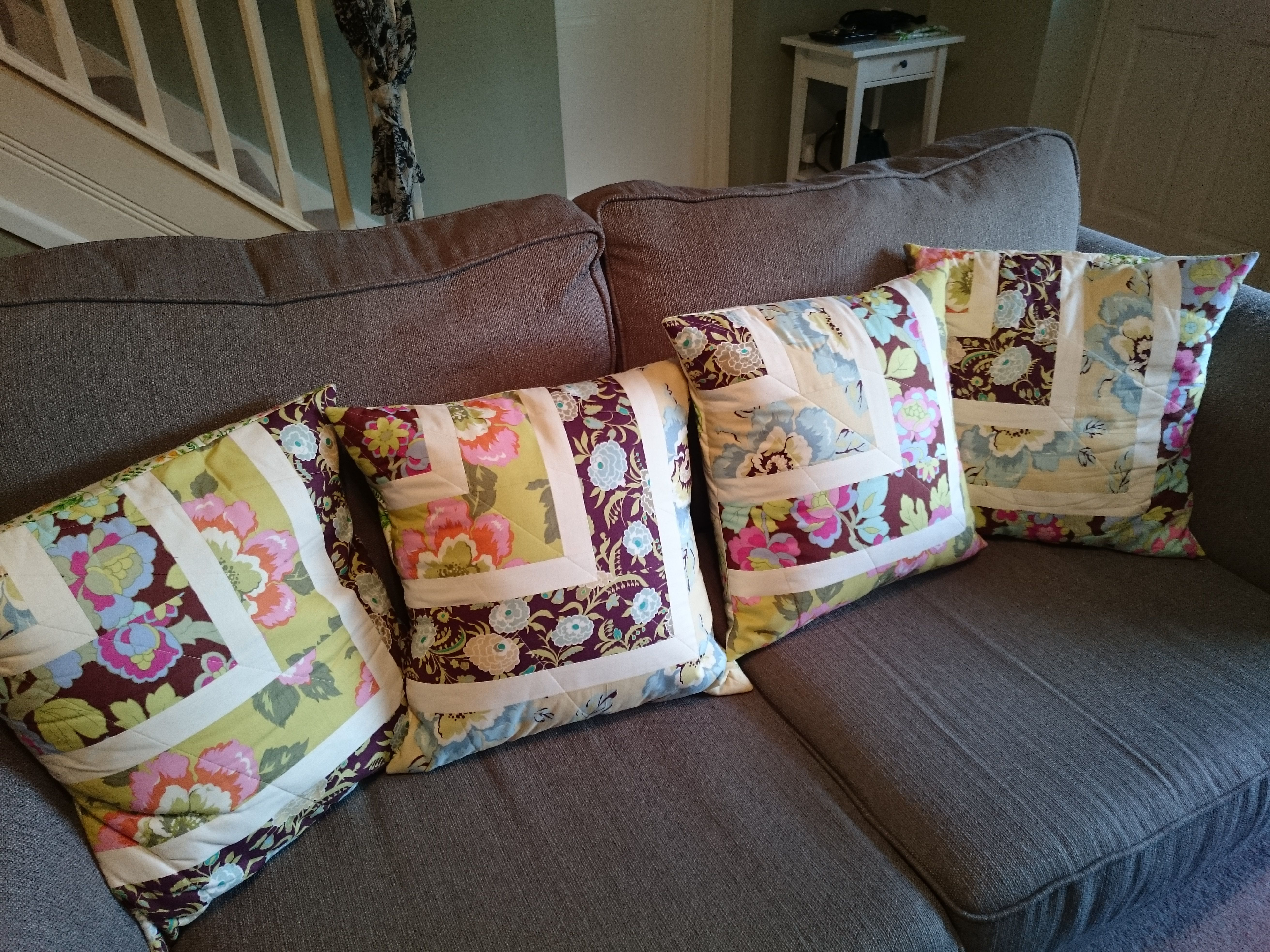 Amy Butler cushions