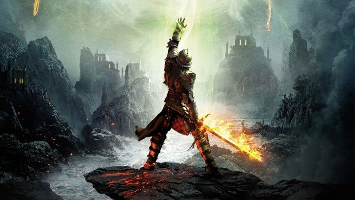 Flaming Sword Dragon Age 3