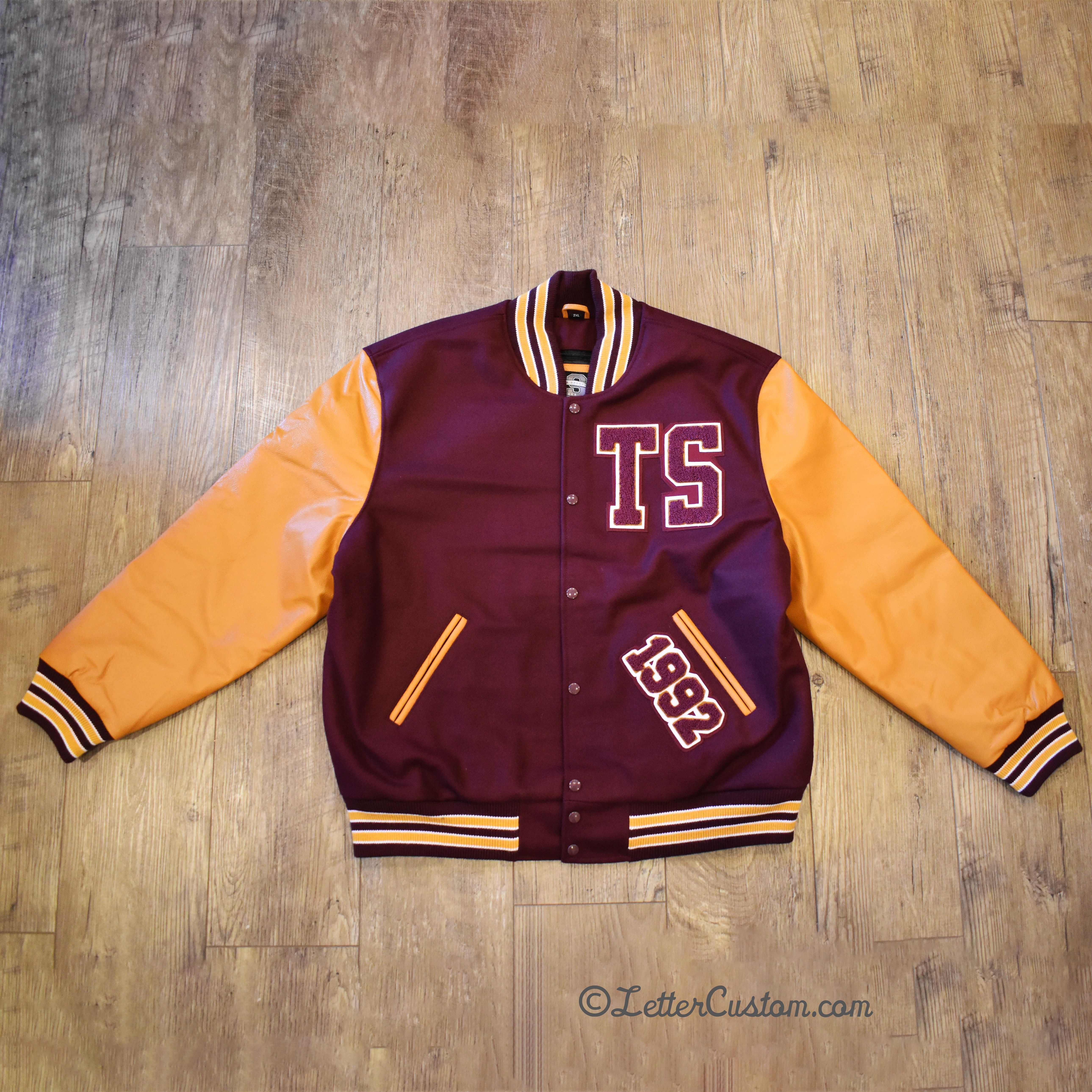 Vintage Custom School Graduation Jacket Remake Senior Jackets Varsity Jacket High School Jackets