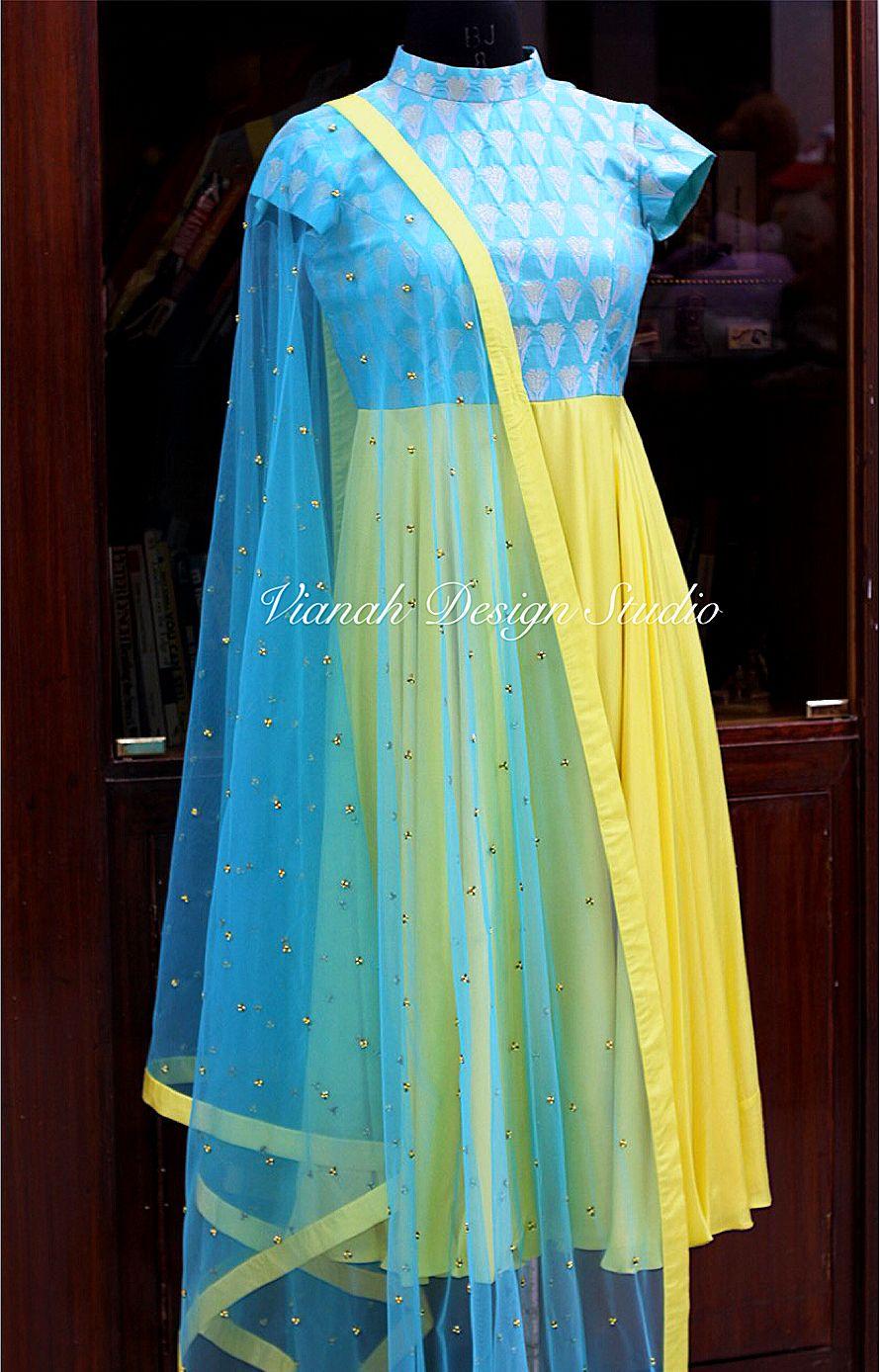 For Orders Or Enquiries Pls Watsapp Or Call On 9966009271 Anarkali Dress Pattern Combination Dresses Chiffon Blouses Designs [ 1388 x 890 Pixel ]
