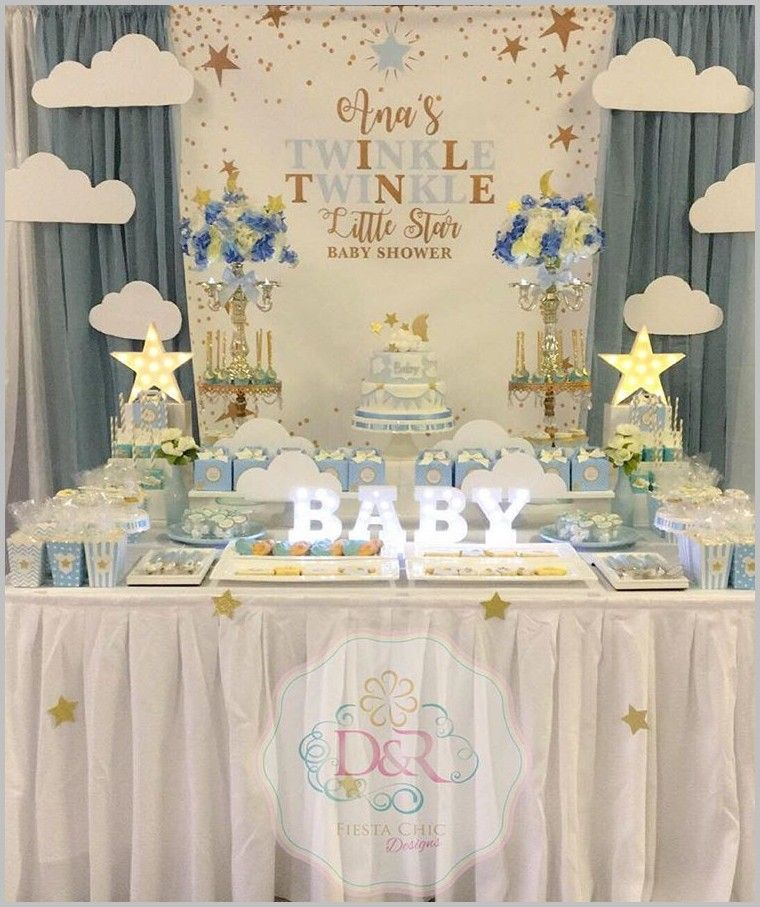 128 reference of baby shower Neutral twinkle twinkle