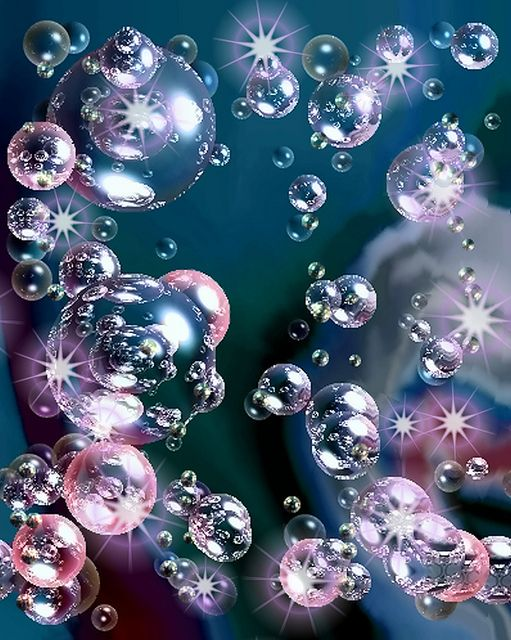 i love Bubbles and no matter where I am, if I see one i have to ...