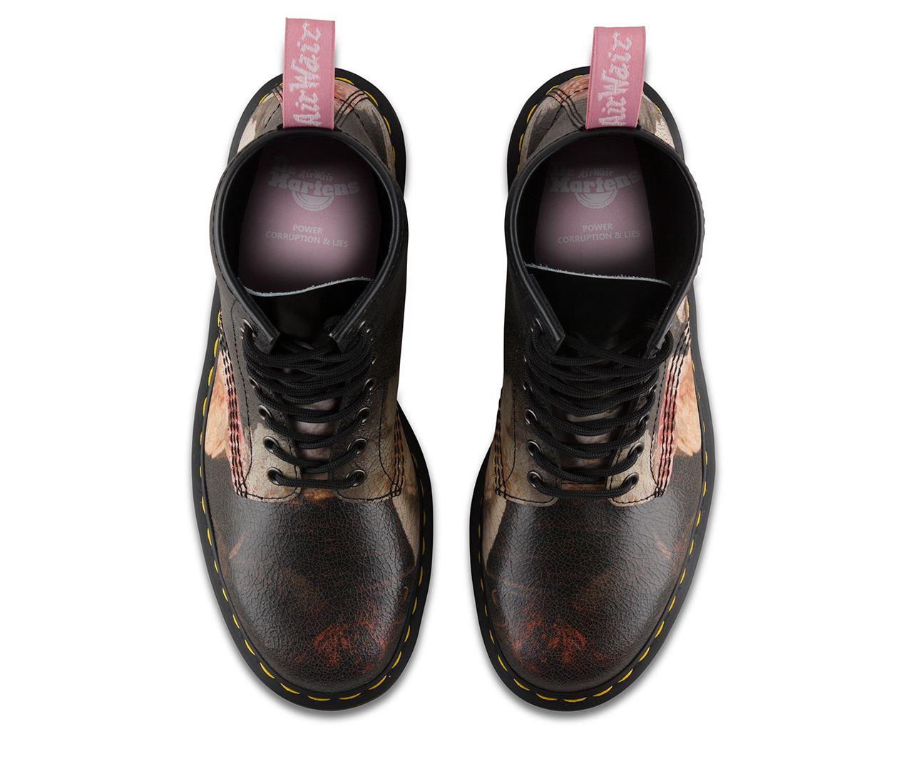 Dr Martens 1460 Power Corruption Lies Boots Combat Boots