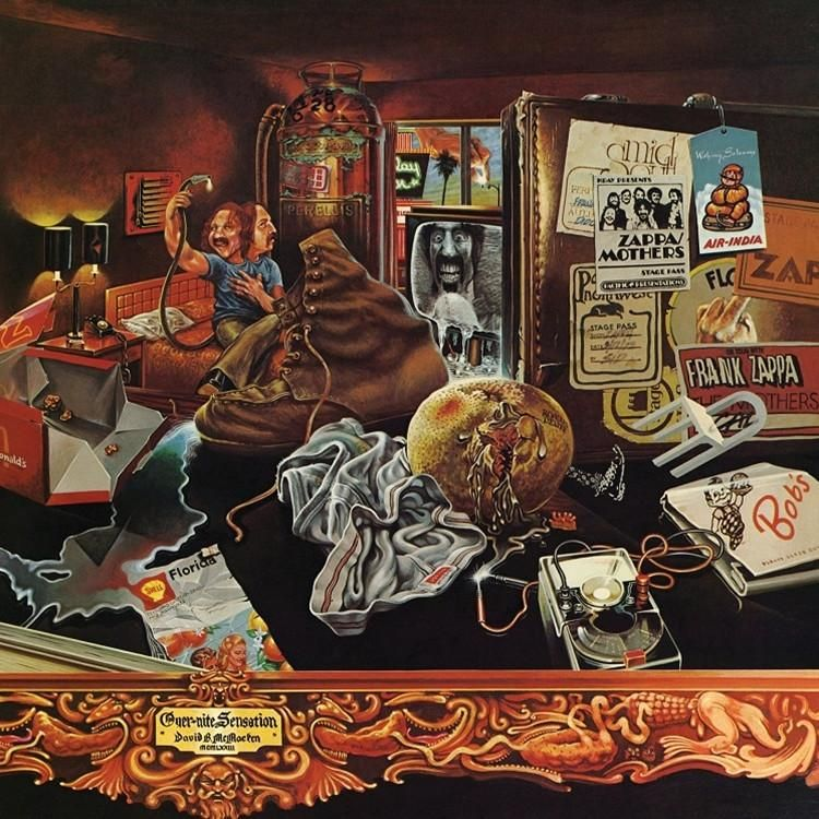 Frank Zappa Over Nite Sensation 180g Vinyl Lp Frank Zappa Zappa Vinyl Music