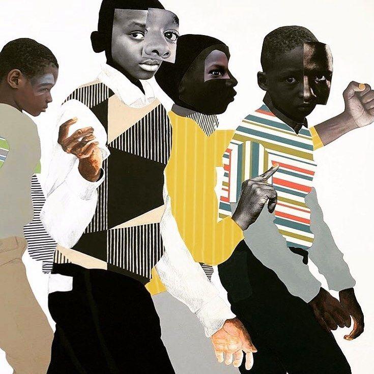 Black artists on instagram artwork by rdeborah191