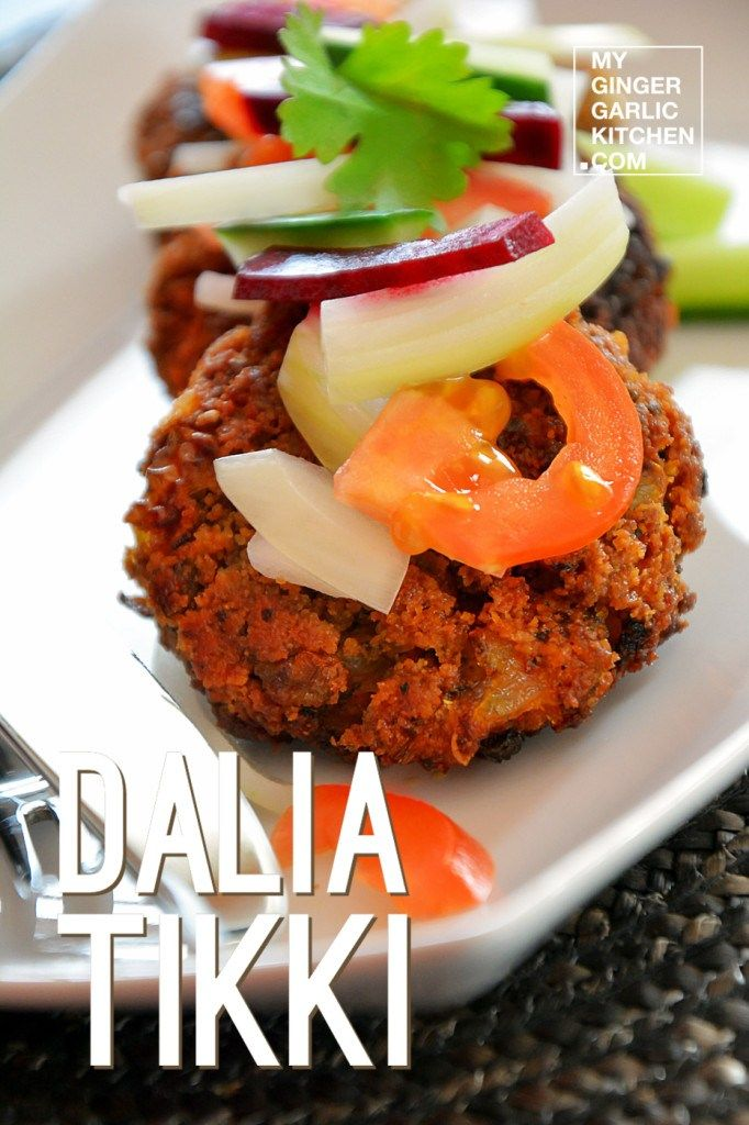 Dalia Tikki Broken Wheat Cutlet Recipe High fiber