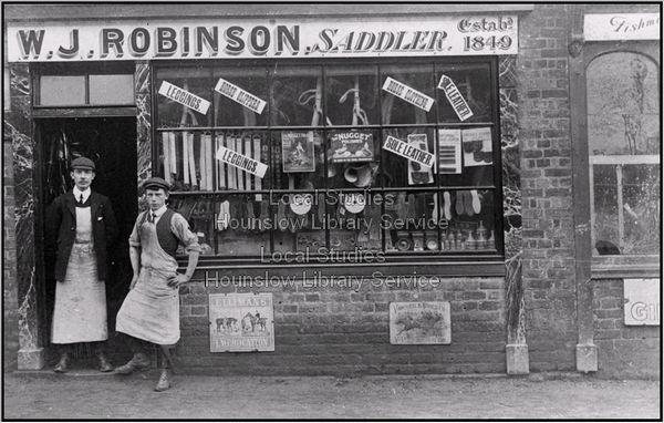 Robinsons Of Feltham High Street 1849 1960s A Craftsmans