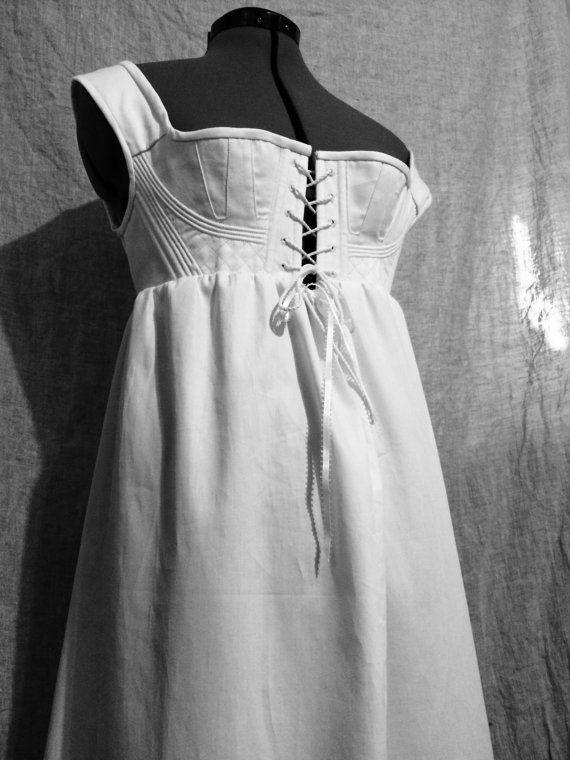Corded Regency Petticoat | Regency underpinnings | Pinterest