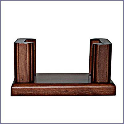 Mackintosh Design - Sandstone Coaster Set Cradle Stand Walnut Finish, $9.95 (http://www.mackintoshdesign.com/sandstone-coaster-set-cradle-stand-walnut-finish.html/)