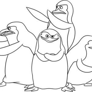 A Happy Penguin Enjoy Christmas Coloring Page A Happy Penguin Enjoy Christmas Coloring P Penguin Coloring Pages Animal Coloring Pages Christmas Coloring Pages