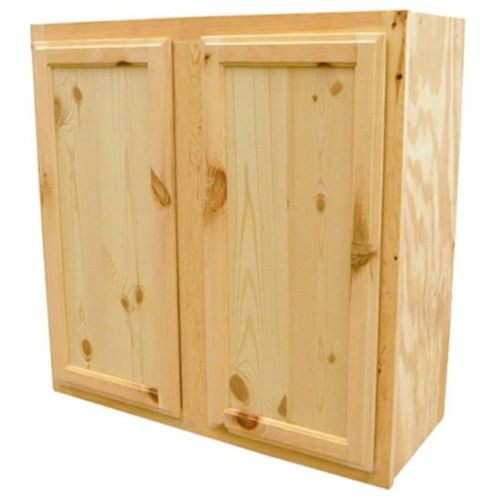 Kapal W3615 Pfp 36 X 15 In Pine Wall Cabinet Jet Com Pine Cabinets Pine Walls Unfinished Cabinets