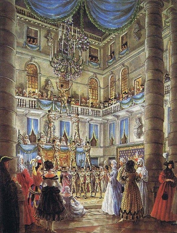 Alexandre-Serebriakoff ~ Bal au Palais Labia, #2