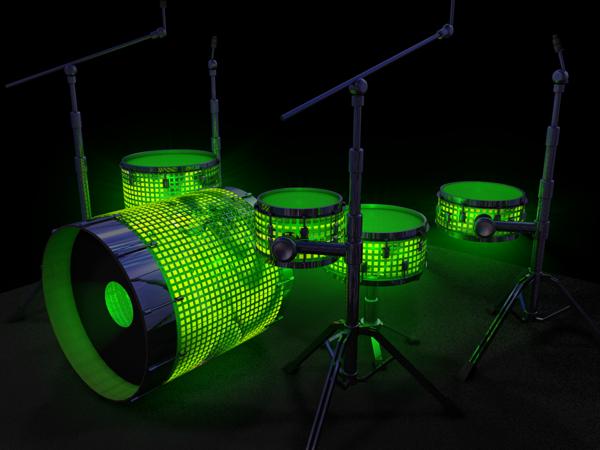 Green Lantern Drums Drums Drum Kits Drum Band