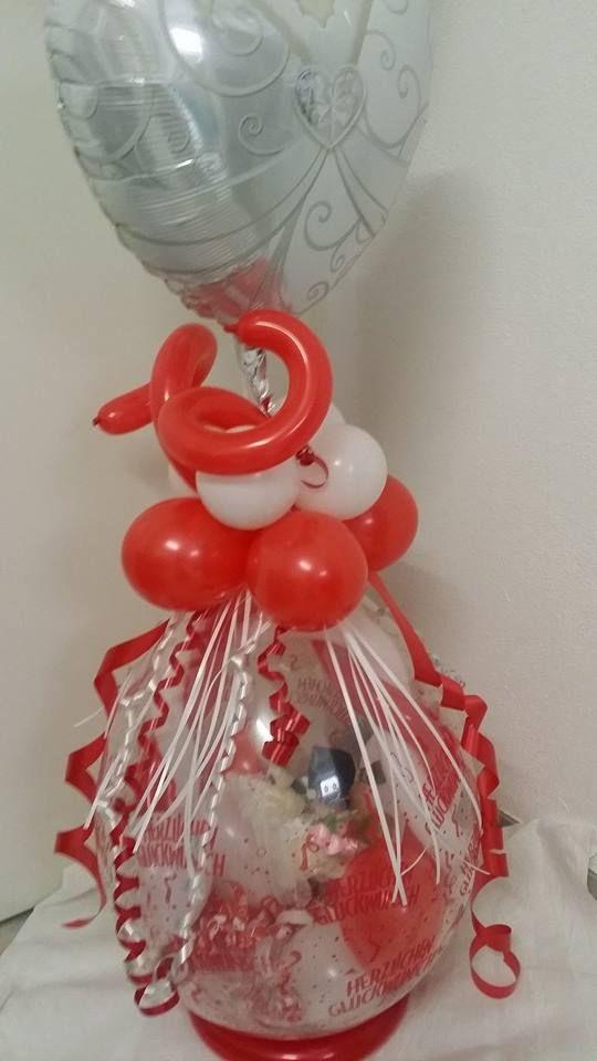 ballon geschenk zur hochzeit luftballon kreationen pinterest geschenke zur hochzeit zur. Black Bedroom Furniture Sets. Home Design Ideas