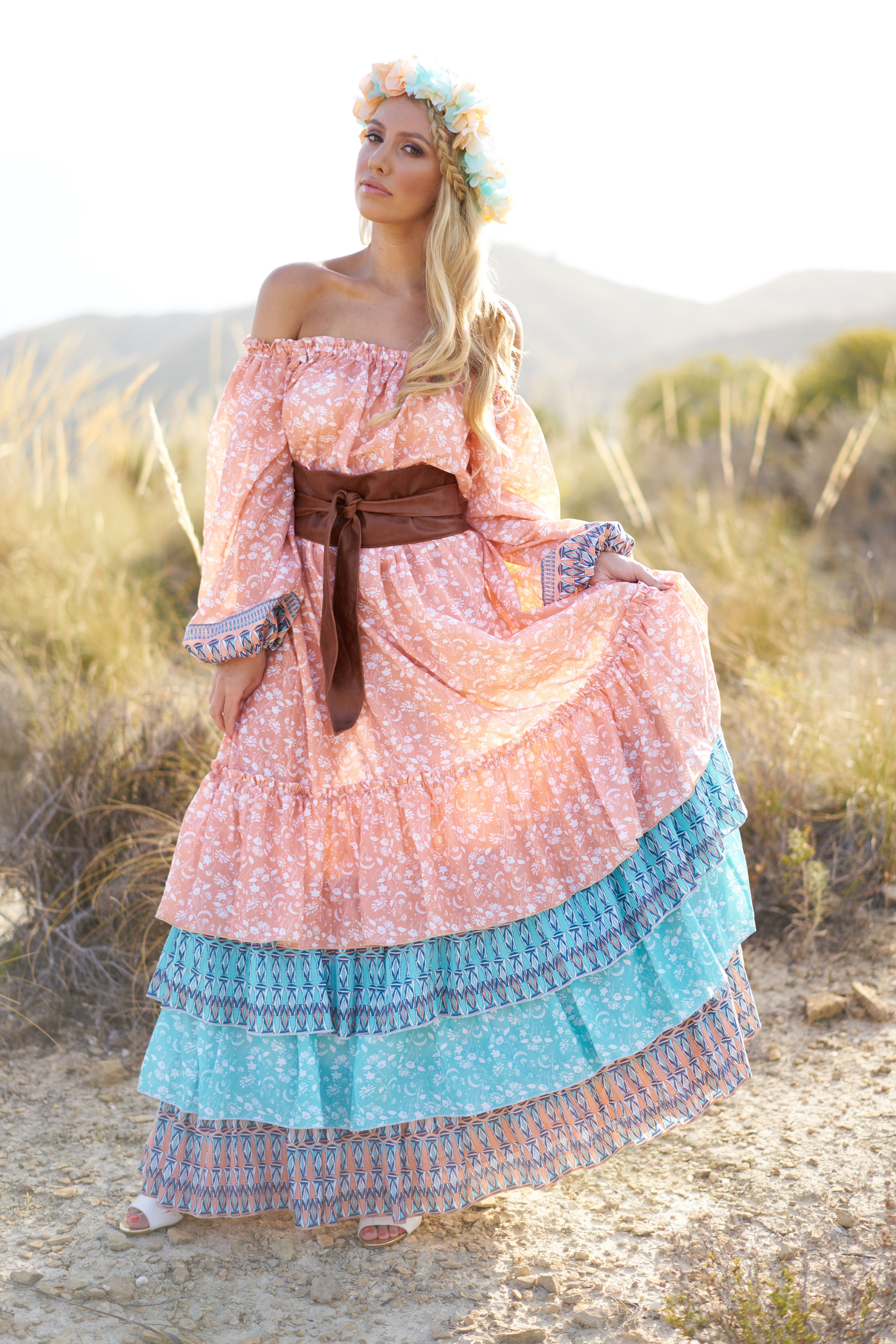The \'Tobago\' Gypsy Dress Use the promo code \