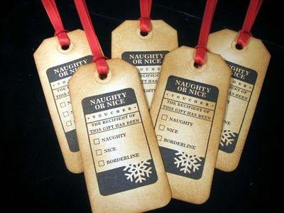 Indie Sista's: Handmade Gift Tags