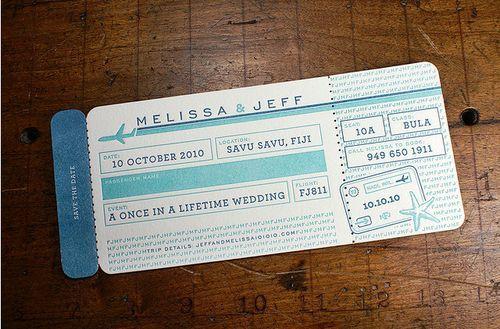 Fun wedding invation #wedding