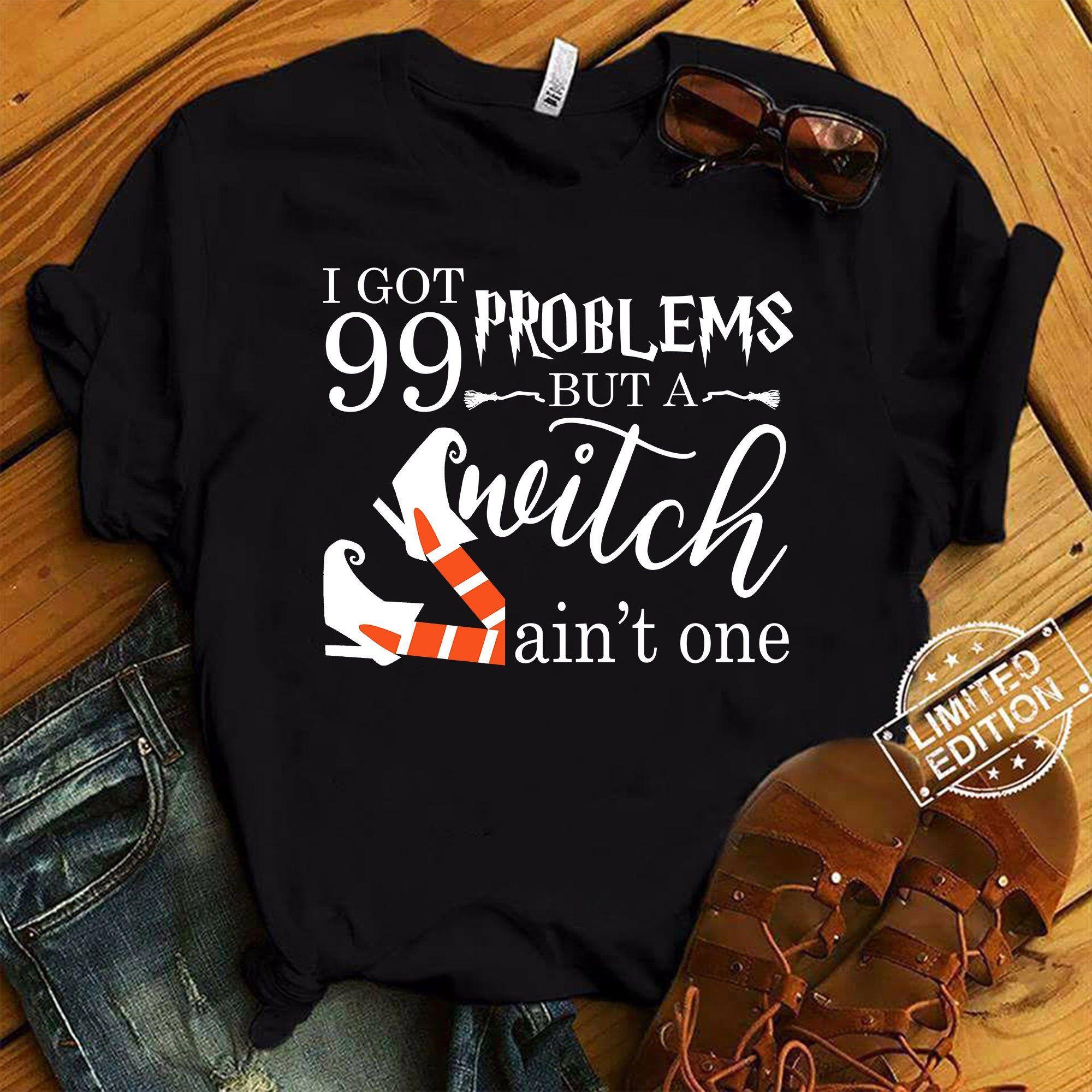 I Got 99 Problems But A Witch Ain/'t One Baby Bib B-Shirts. Halloween New Born