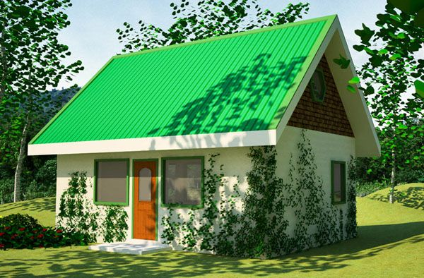 Green House Plan Sustainable House Design Straw Bale House Building Plans House