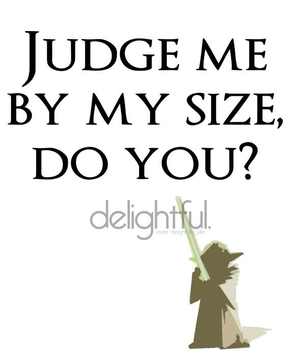 Instant Download Star Wars Yoda Quote / by